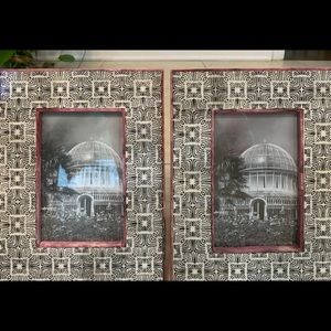 World Market Two Picture Frames 4x6